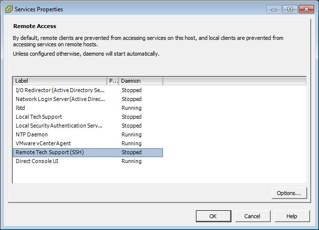 Enabling ESX SSH via PowerCLI - Virtu-Al Net