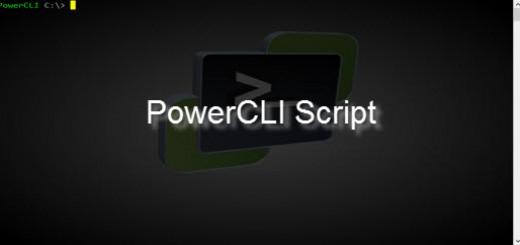 PowerCLI Script