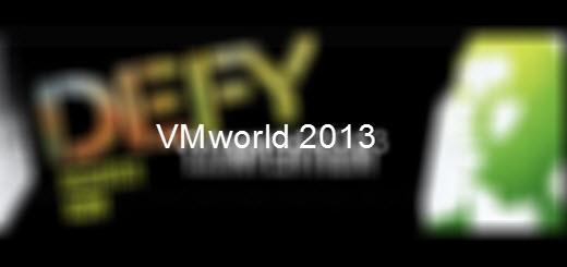 VMworld 2013 Barcelona–Where I will be