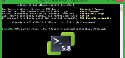 PowerCLI 5.8