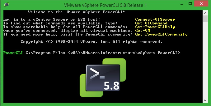 VMware PowerCLI 5.8 R1 Released