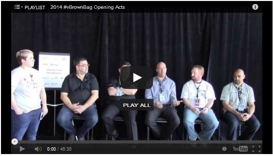 VMworld 2014 Orchestration, Automation & Optimization Panel