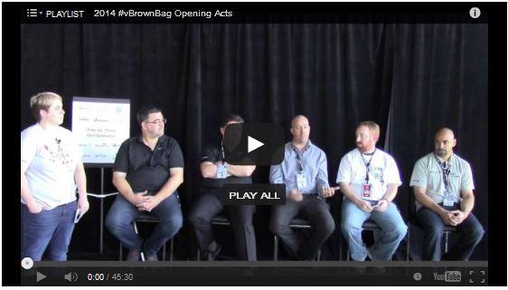 VMworld 2014 Orchestration, Automation & Optimization Panel