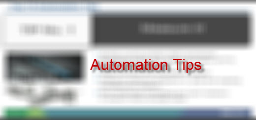 Automation Tip 7–Testing