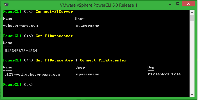PowerCLI 6.0 and vCloud Air